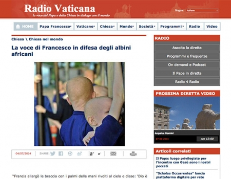 Radio Vaticana | 07-2014