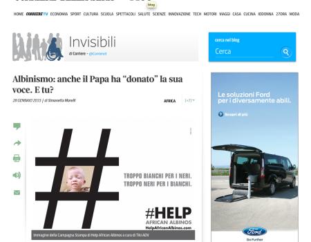 Corriere della Sera | 01-2015
