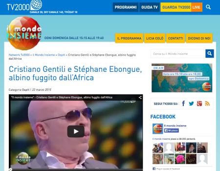 TV2000 – Il Mondo Insieme | 03 – 2015